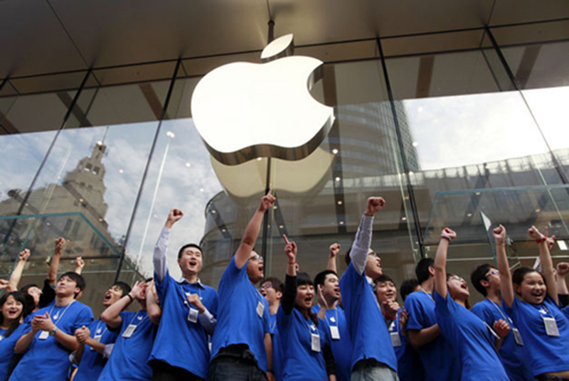 apple fortune entreprise plus admiree monde