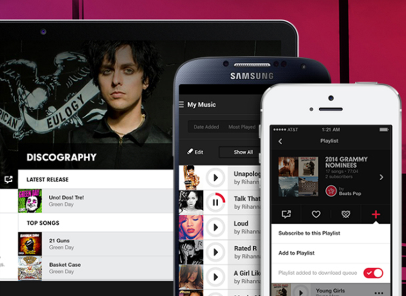 apple streaming musical android