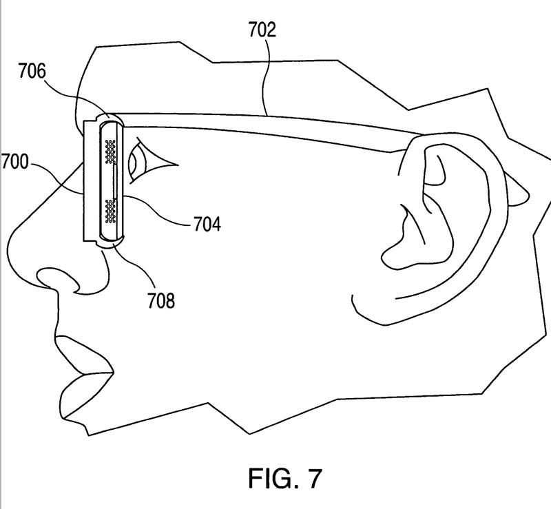 brevet apple lunettes connectees google glass
