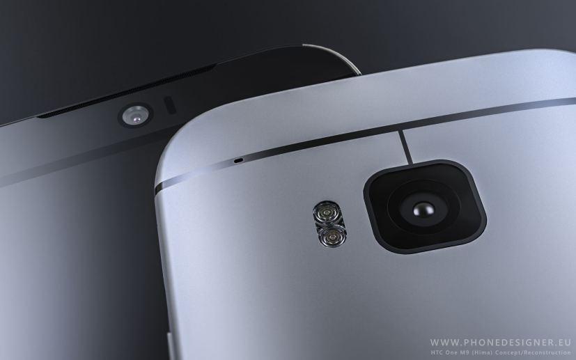 HTC One M9 capteur photo