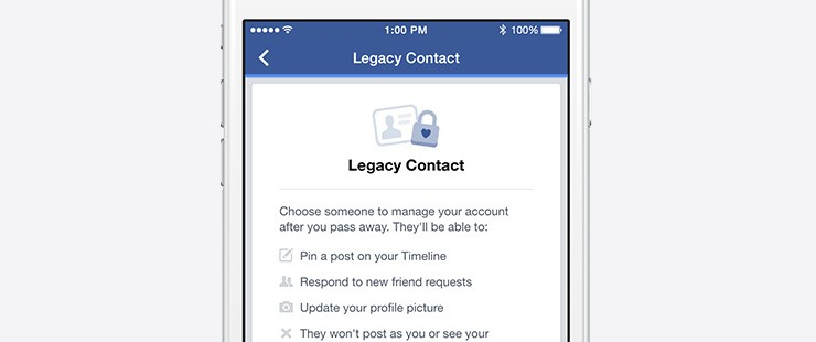 configurer votre héritage facebook