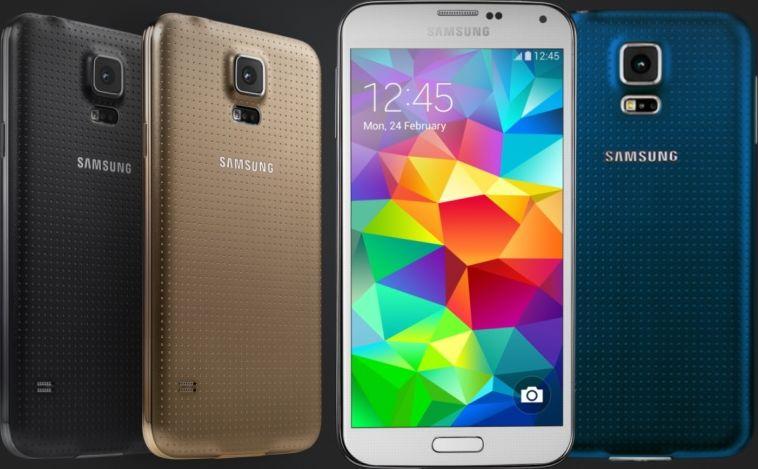 Galaxy S5 publicité