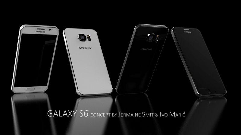 Galaxy S6 blanc