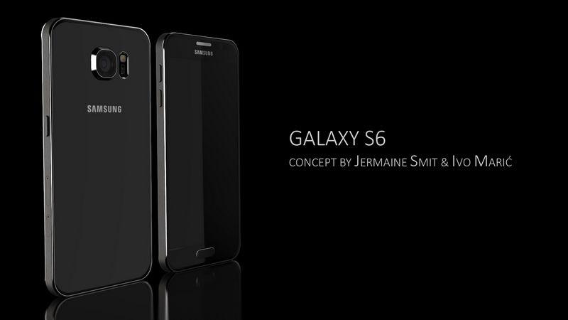 Galaxy S6 rendu 3D