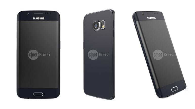 Galaxy S6 Edge rendu photo