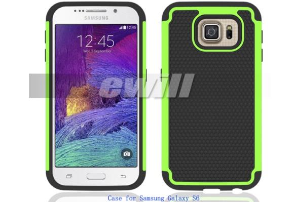 Galaxy S6 rendu