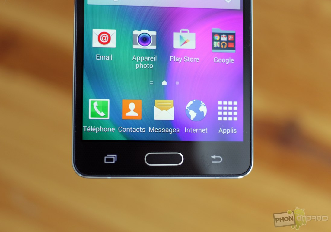 galaxy a5 bouton tactile