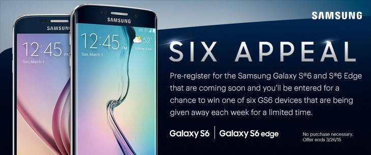 une nouvelle image promotionnelle des Galaxy S6