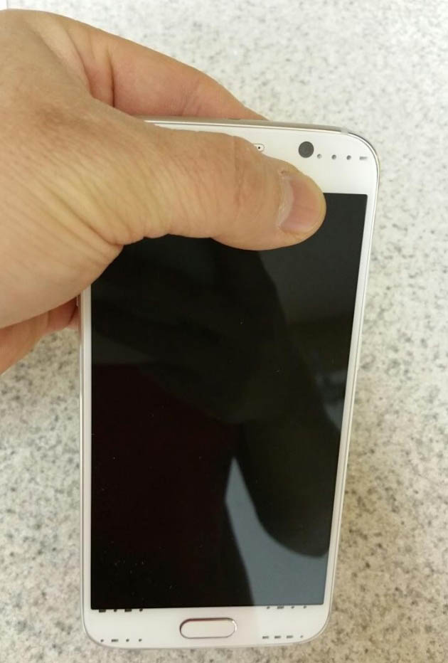 galaxy s6 face leak