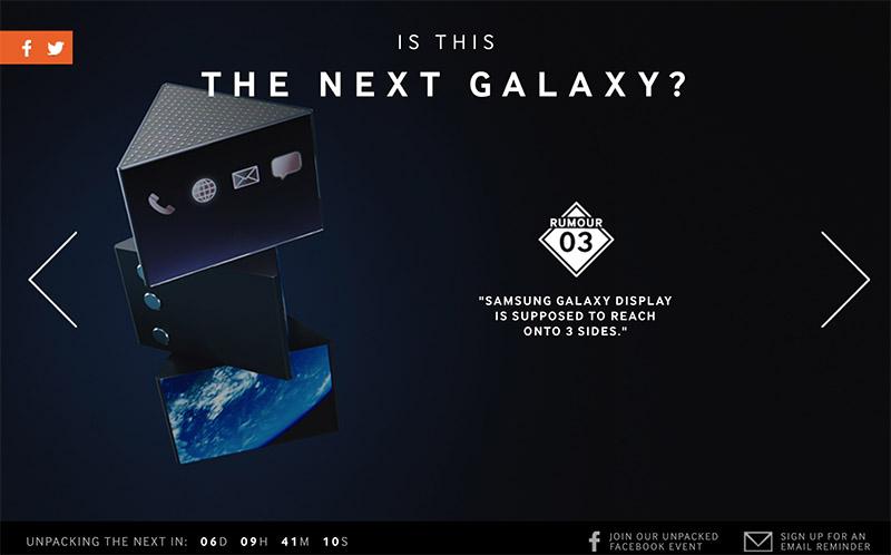galaxy s6 samsung norvege rumeur ecran edge