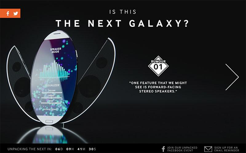 galaxy s6 samsung norvege rumeur haut parleur stereo