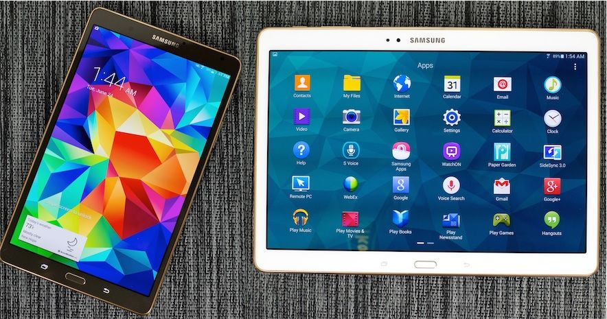Galaxy Tab S Android Lollipop