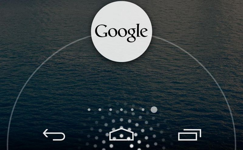 personnaliser raccourci Google Now