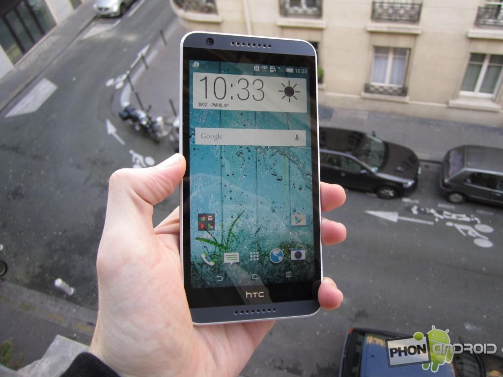 HTC Desire 820, 349 euros