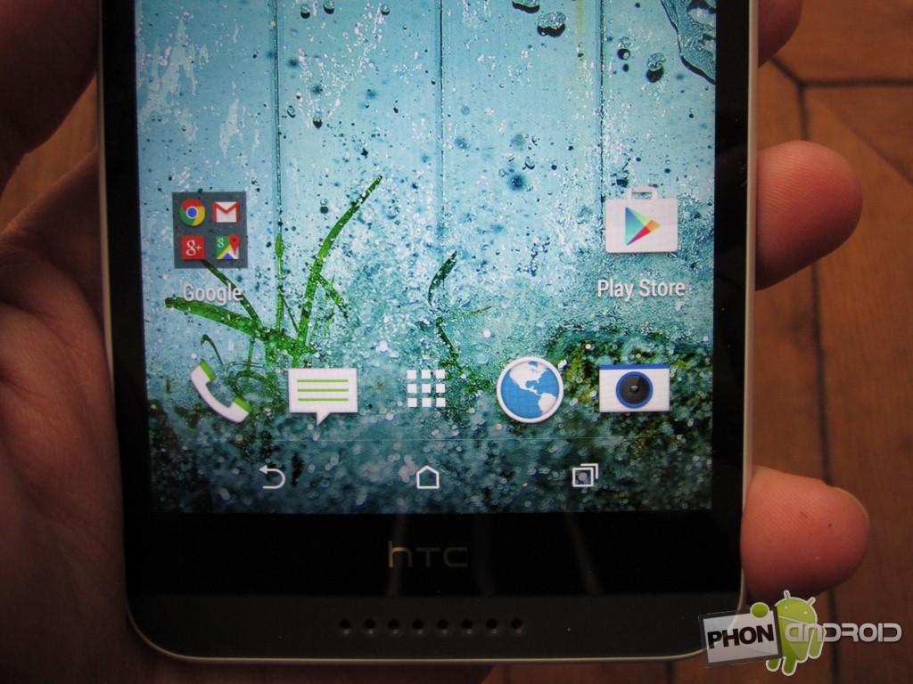 HTC Desire 820, un design de qualité