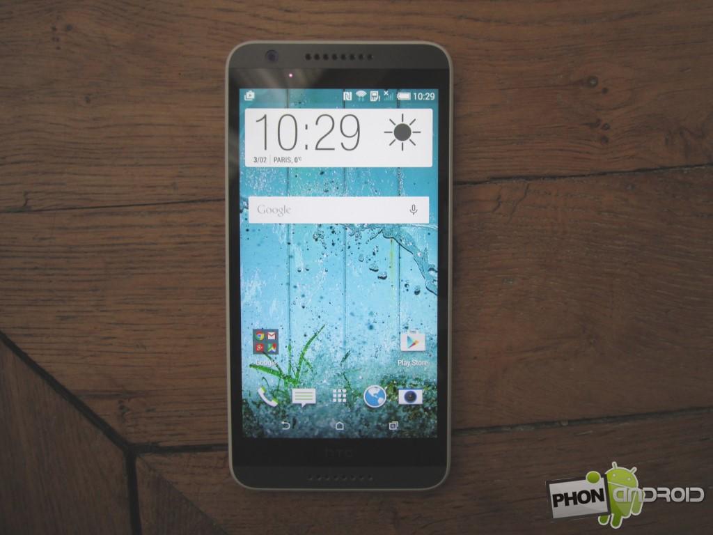 HTC Desire 820, écran HD