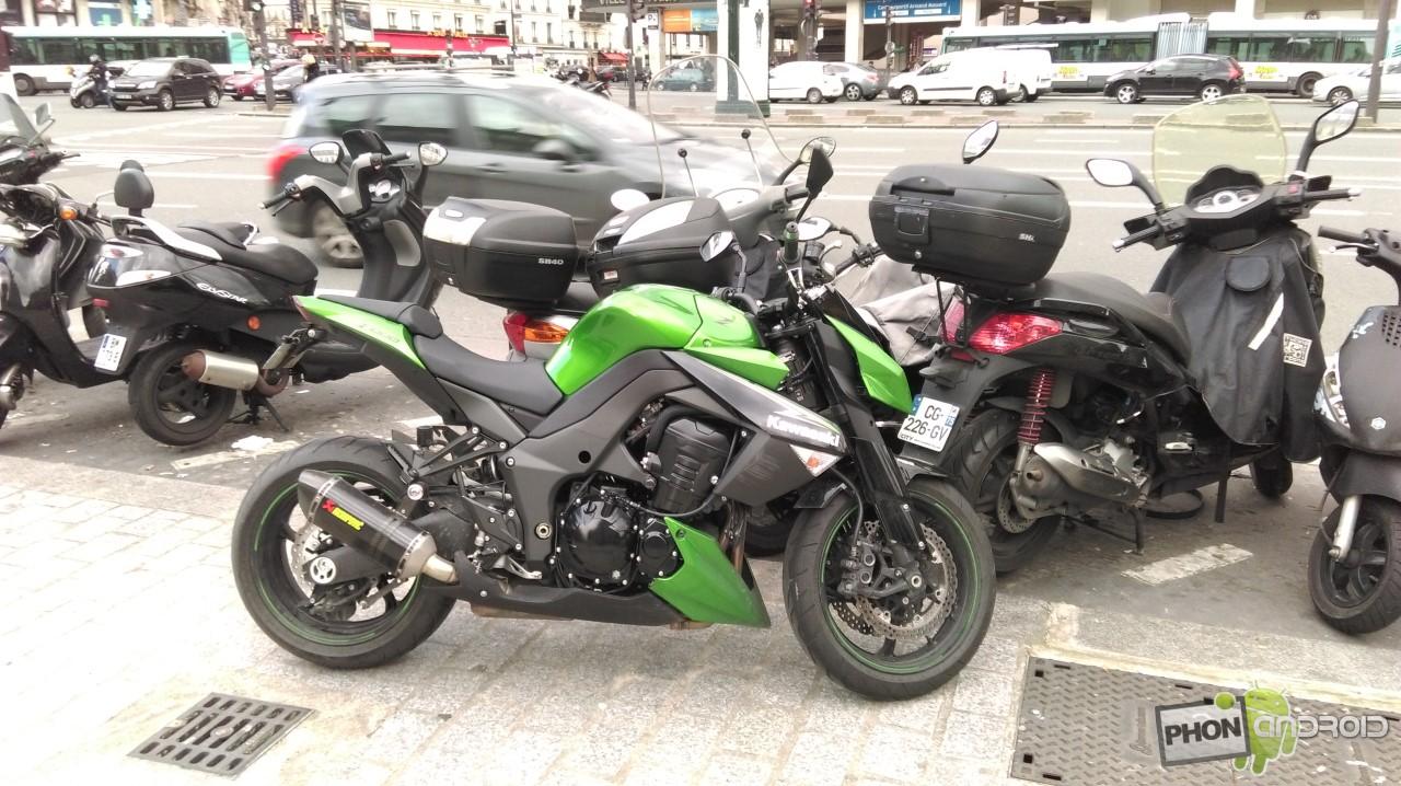 HTC Desire 820, moto de jour, mode auto