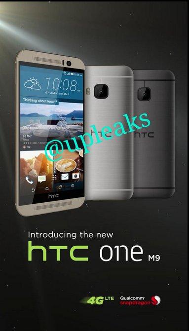 HTC One M9 publicité