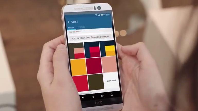 HTC One M9 vidéo