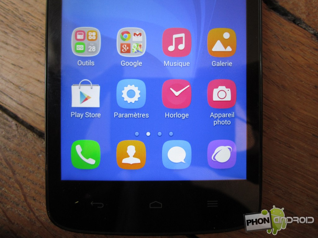 Huawei Honor Holly avec écran joliment lumineux