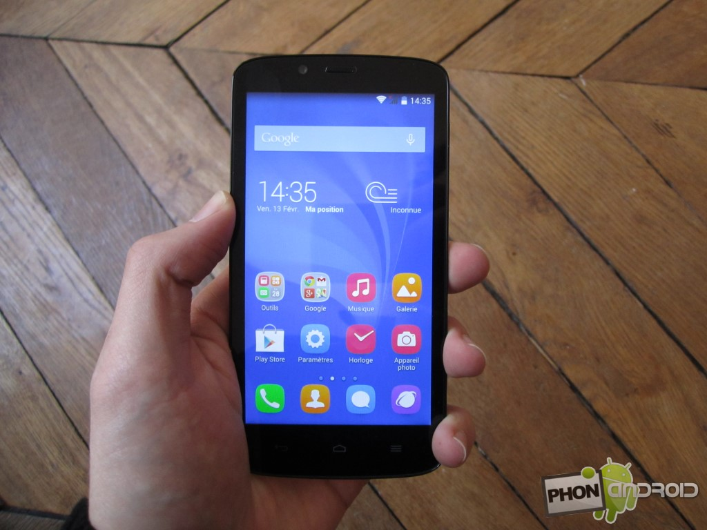 Huawei Honor Holly avec processeur MediaTek