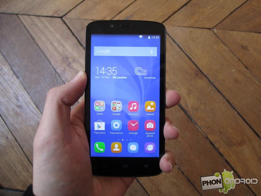 Huawei Honor Holly avec processeur MediaTek