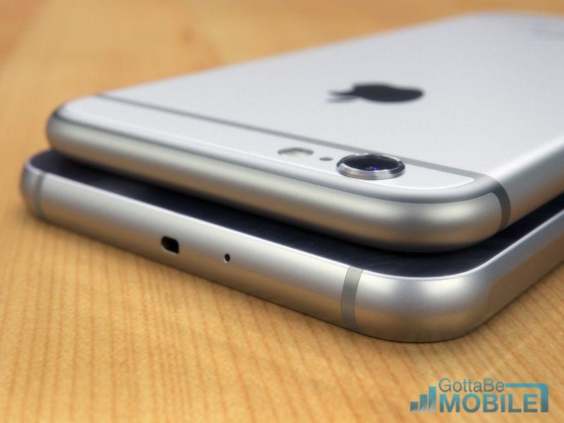 iPhone 6 vs Galaxy S6 tranche