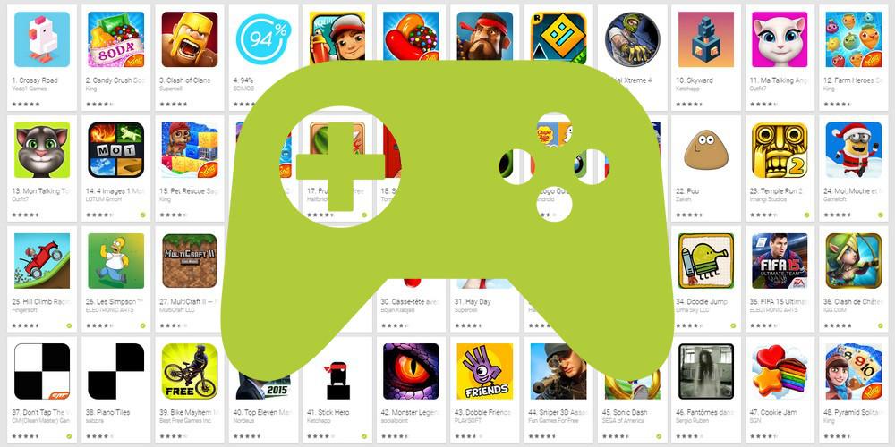 Les jeux mobiles les plus téléchargés en France