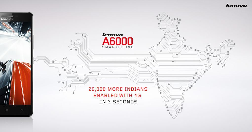 20000 Lenovo A6000 en 3 secondes