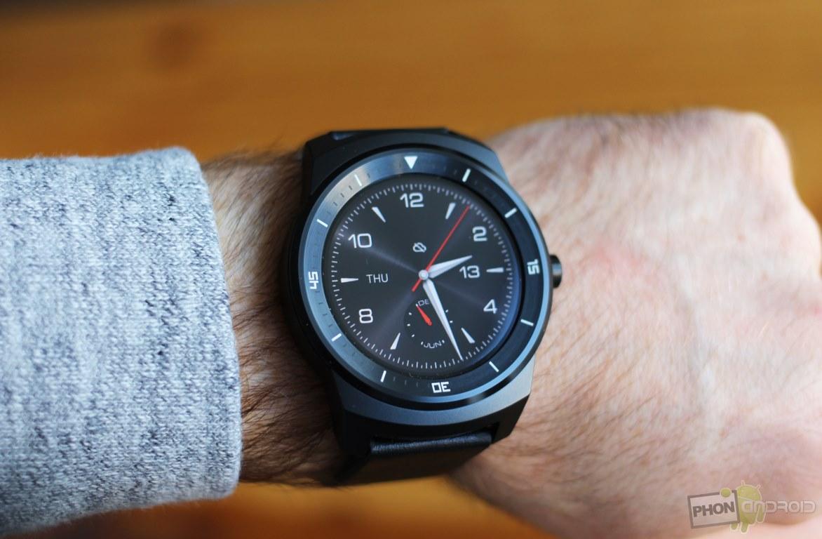 LG G Watch R avec Snapdragon