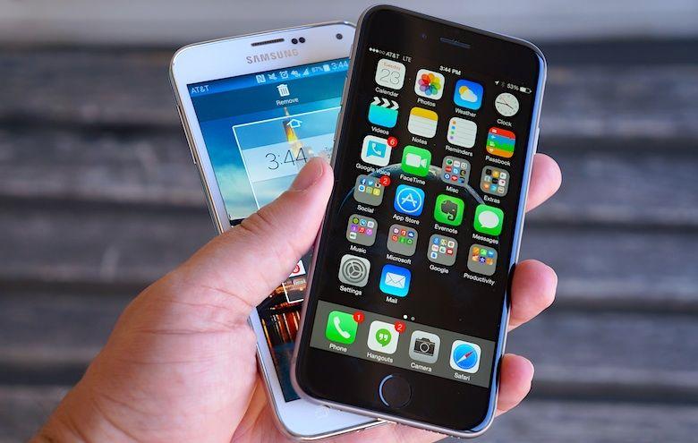 parts de marché Apple vs Samsung