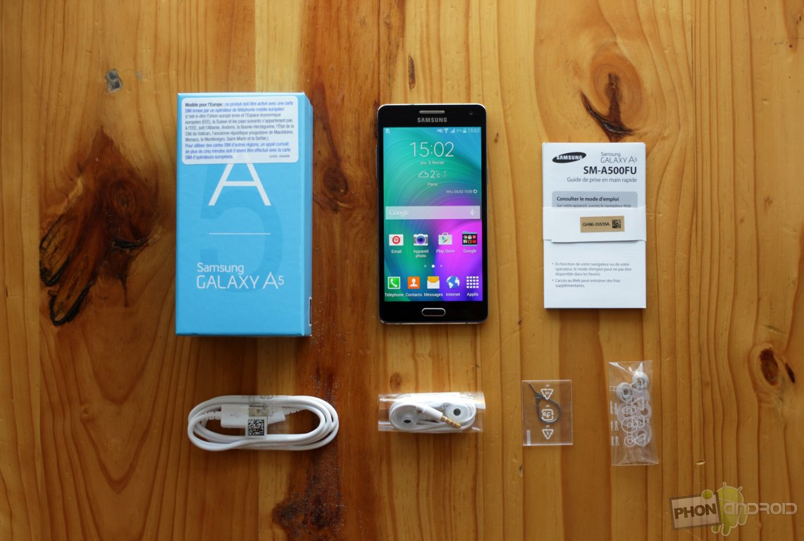 samsung galaxy a5 test