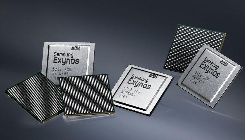 processeurs Samsung 5 nm