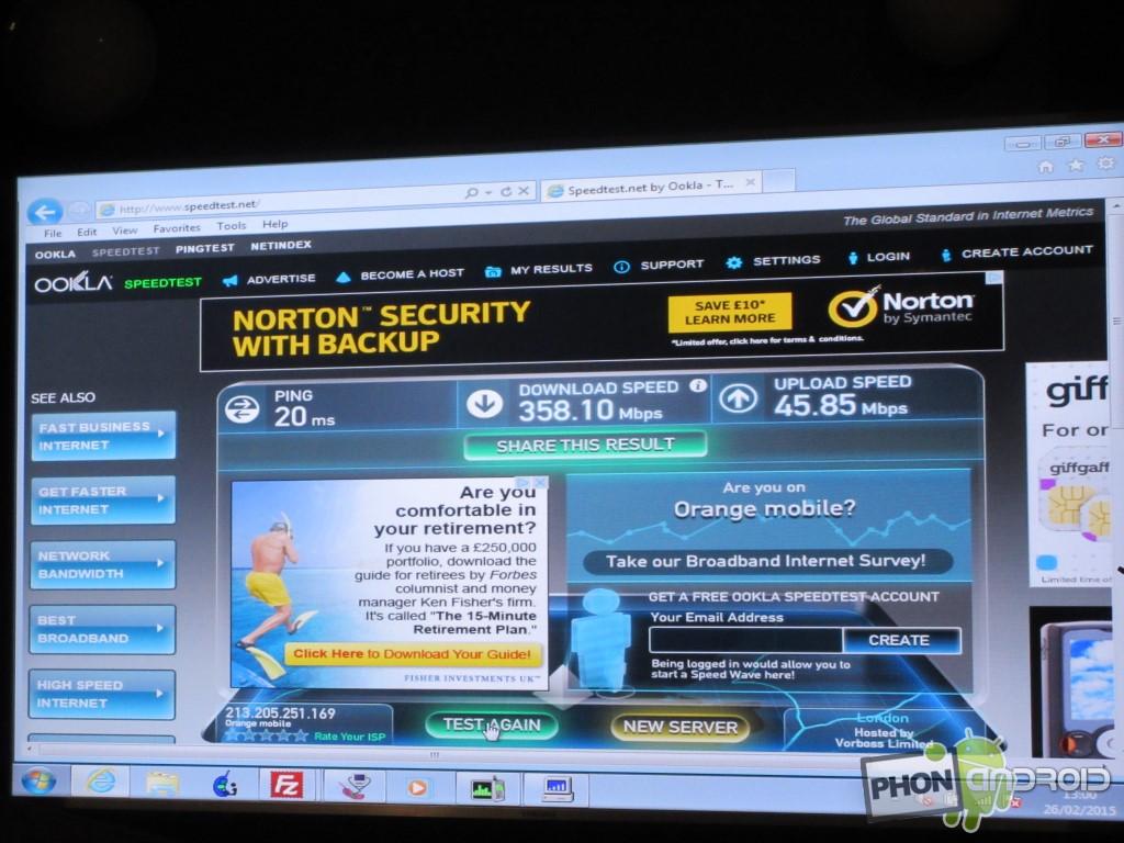 Snapdragon 810 et débit record