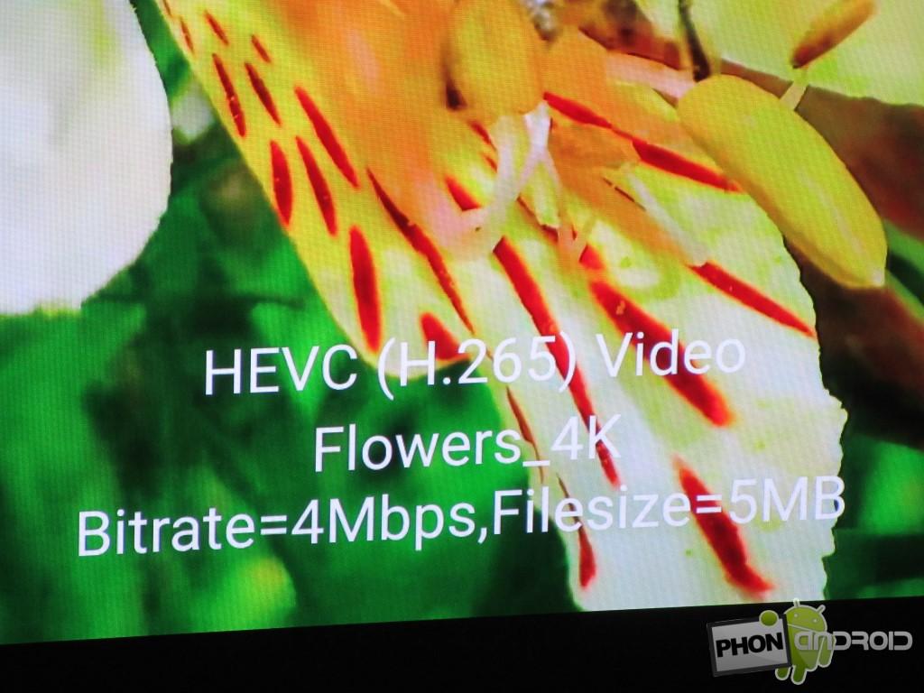 Snapdragon 810 et HEVC 4K
