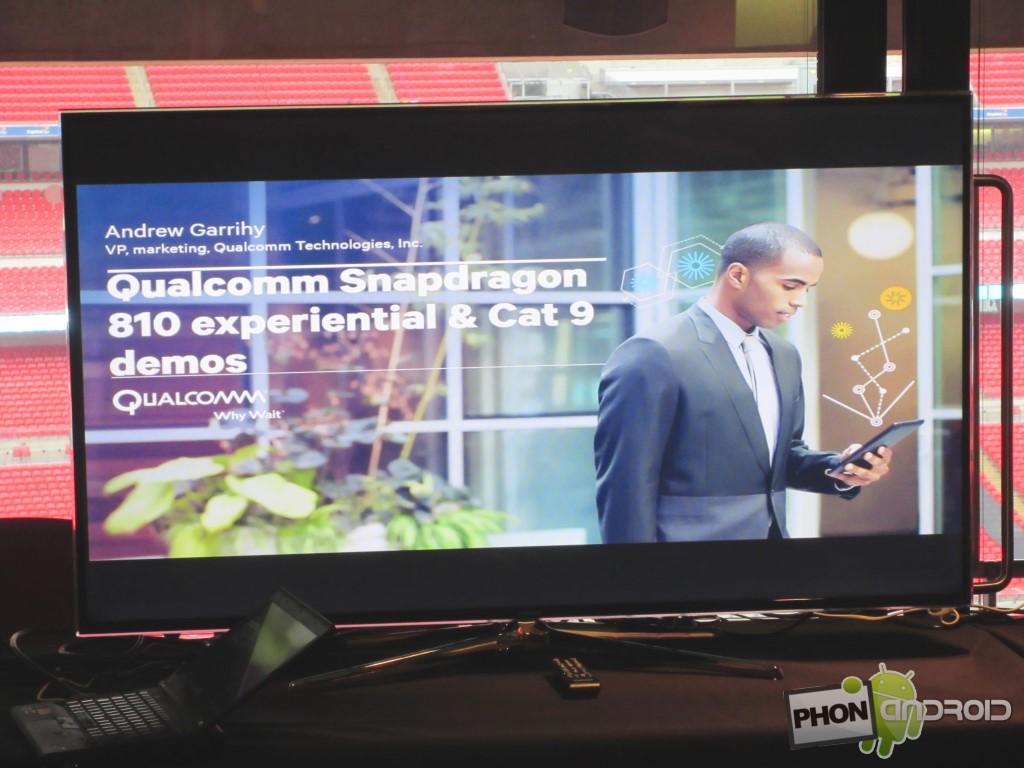 Snapdragon 810 et la présentation technique de Wembley