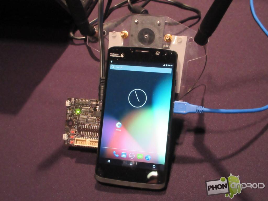 Snapdragon 810 et smartphone de test 4G