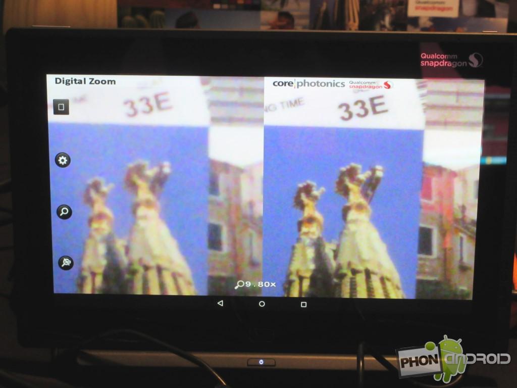 Snapdragon 810 et le zoom numérique