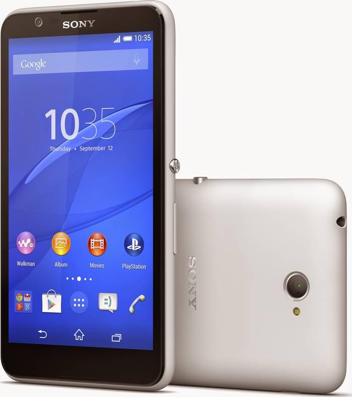 Sony Xperia E4 blanc