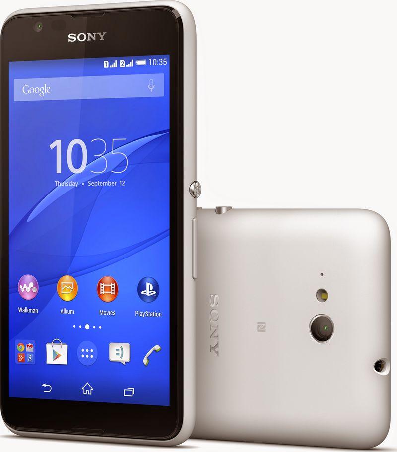 Sony Xperia E4G blanc