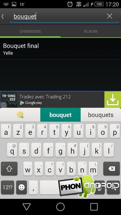 tagger fichier MP3 Android