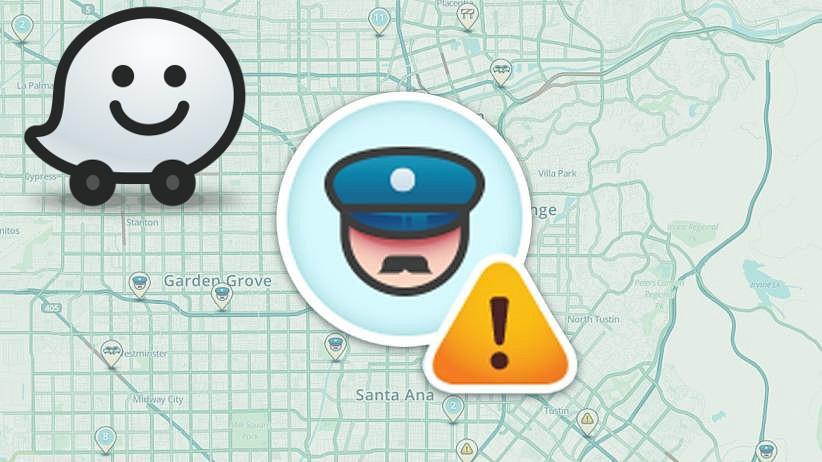 La police se venge de Waze