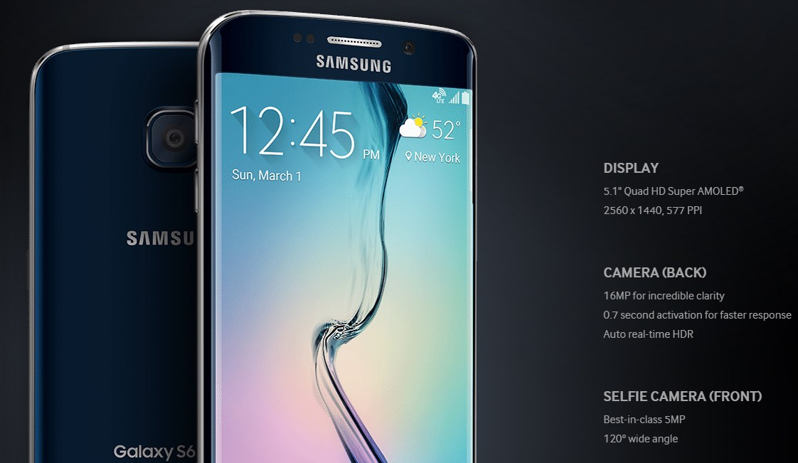 Galaxy S6 capteur photo frontal