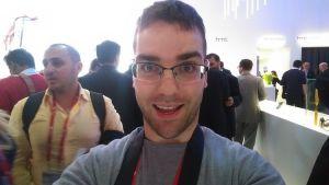 Selfie avec le HTC One M8