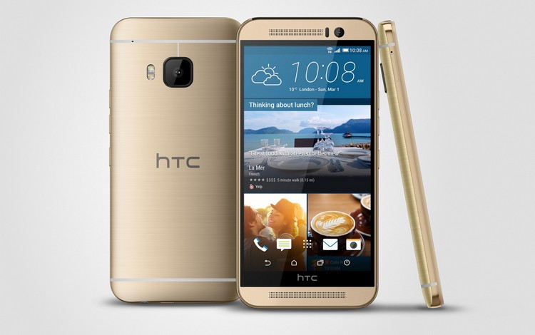 HTC One M9 image officielle 1