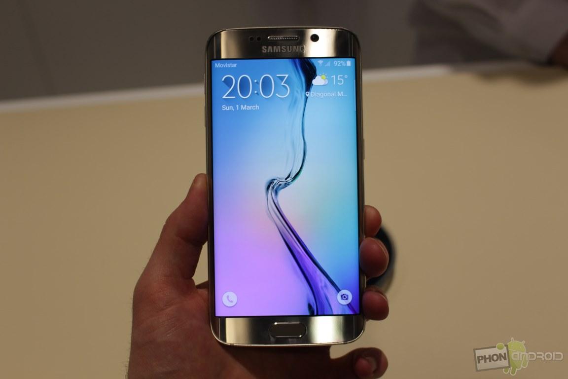 Galaxy S6 Edge fonctionnalités
