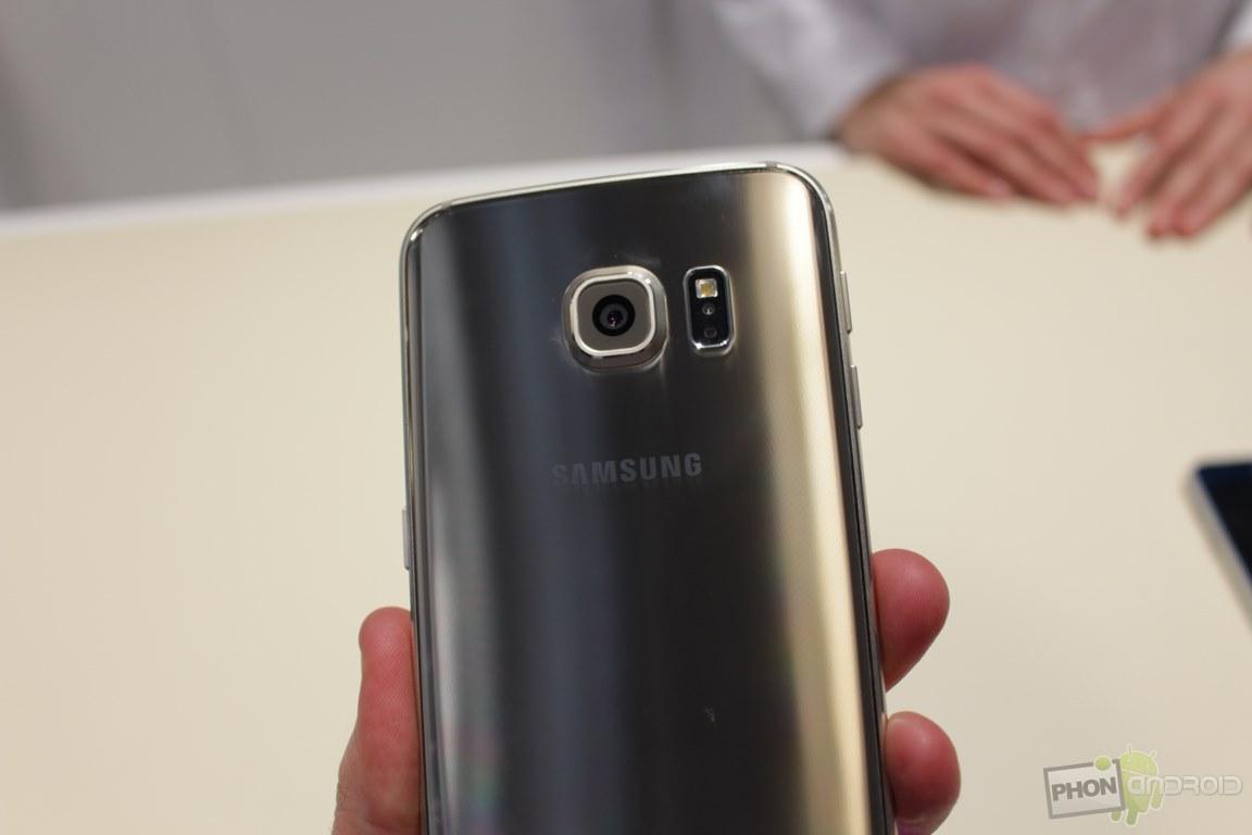 capteur photo Galaxy S6 Edge