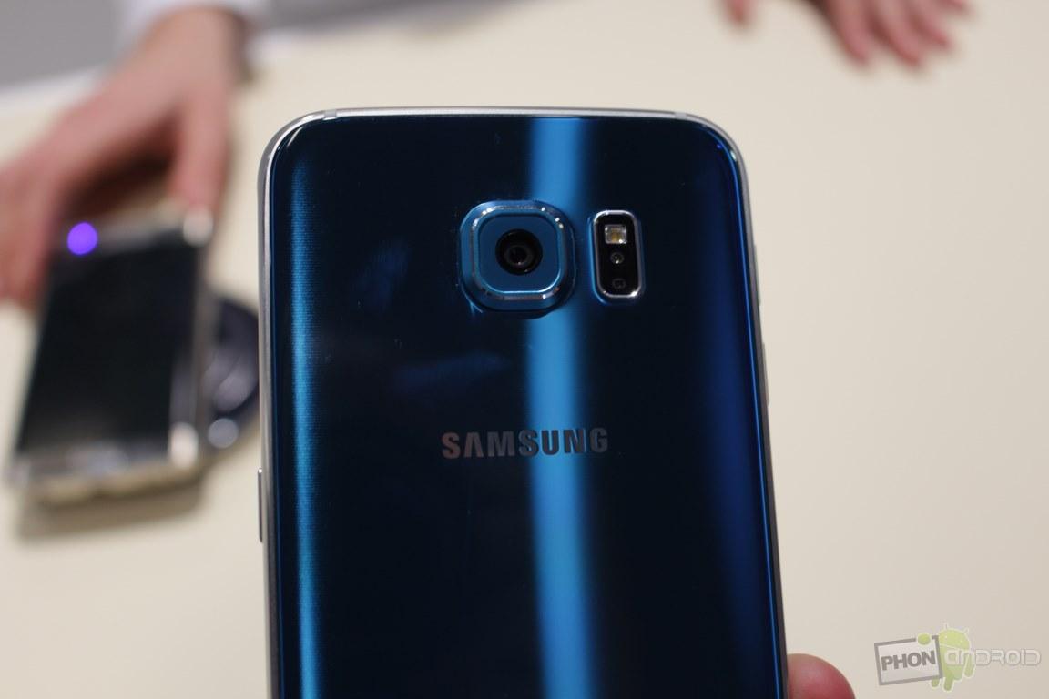 Galaxy S6 Edge capteur photo