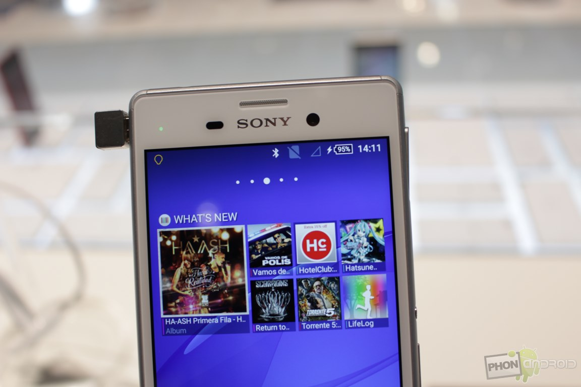 Sony xperia M4 Aqua Lollipop