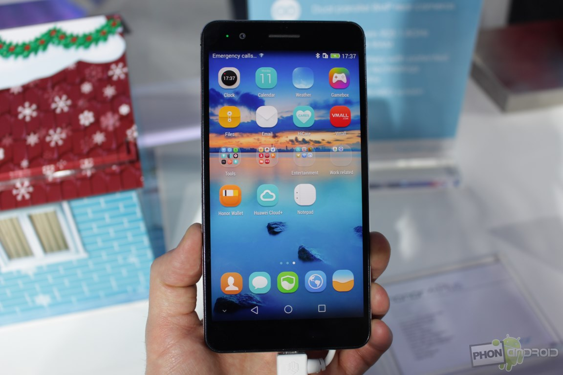 Honor 6 Plus MWC 2015